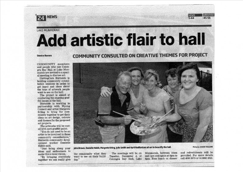 Add-Artistic-flair-to-hall-CCEAdvocate-December-2012