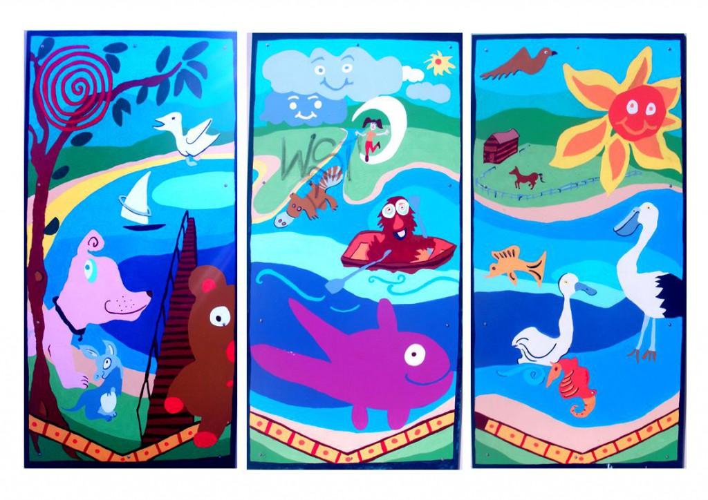 PCYC-Bateau-Bay-Murals-2010