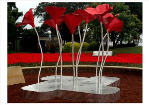 Poppy-Sculpture-Installed-300x212