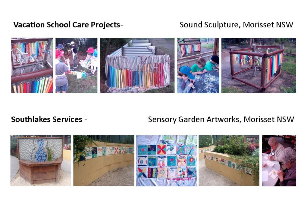 Vacation-School-Care-Morisset-Sound-Sculpture-Southlakes-Services-Sensory-Garden-1024x723